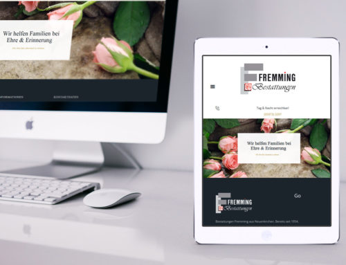 Homepage Erstellung Bestattungen Fremming Neuenkirchen