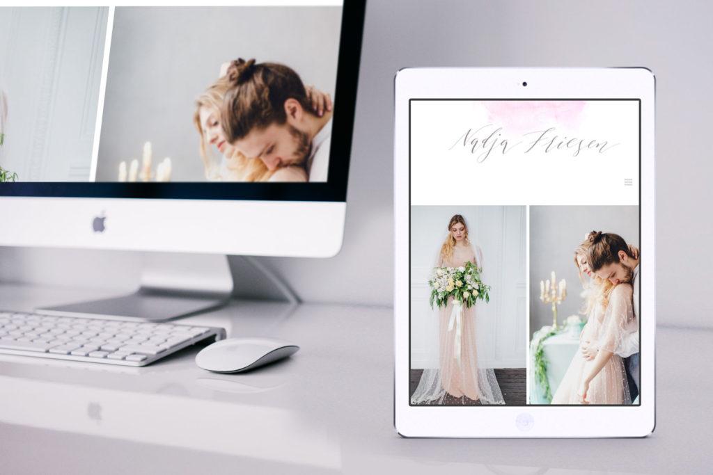 Hochzeitsfotografin Nadja Friesen - Internetseite Osnabrück