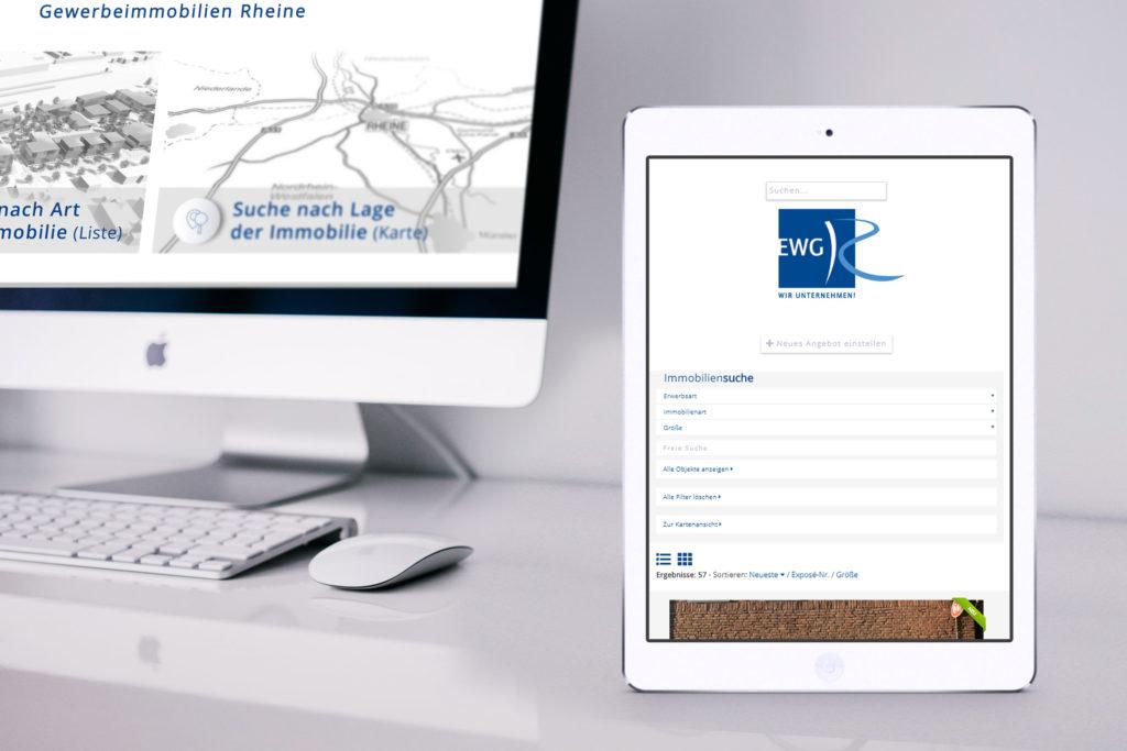 EWG Rheine - Wirtschaftsförderung Rheine - Immobilienportal