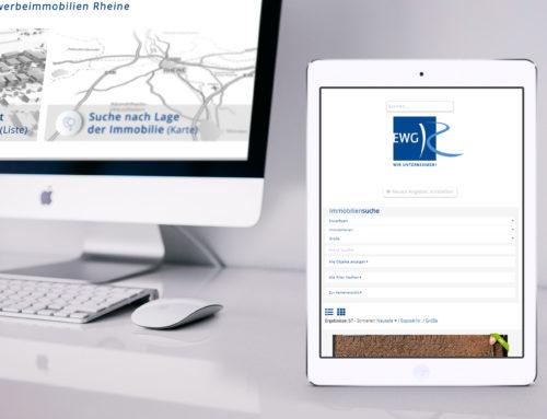 Neues Immobilienportal EWG Rheine